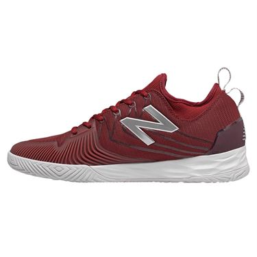 New Balance MC LAV (2E) Mens Tennis Shoe - Scarlet/White