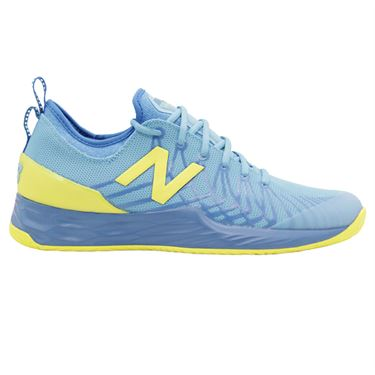 New Balance Fresh Foam LAV (D) Mens Tennis Shoe - Blue/Yellow