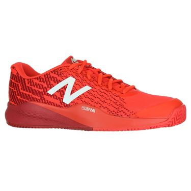 New Balance MC 996 (2E) Mens Tennis Shoe - Red/White
