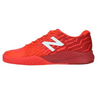New Balance MC 996 (D) Mens Tennis Shoe - Red/White