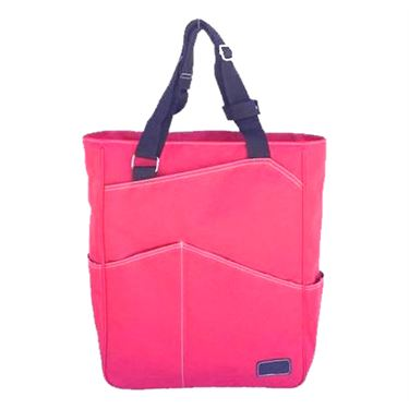 Maggie Mather Tennis Tote Bag - Coral