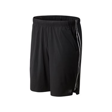 New Balance Rally Short 9 inch Short Mens Black MS01412 BK