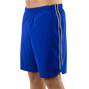 New Balance Rally Short 9 inch Mens Marine Blue MS01412 MIB
