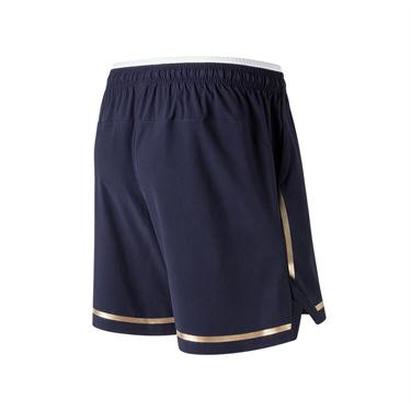 New Balance 7 Inch Tournament Short - Pigment/Classic Gold