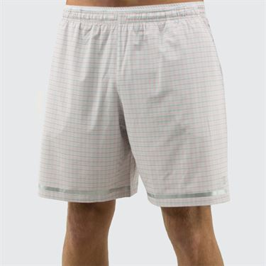 New Balance Tournament 7 inch Short - White Tattersall