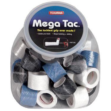 Tourna Mega Tac OverGrip Assorted Jar (36 Pack)