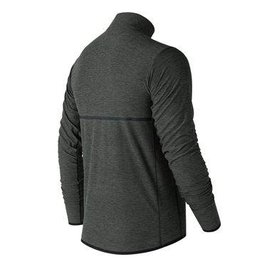 New Balance N Transit 1/4 Zip - Heather Charcoal
