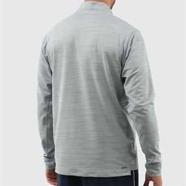 New Balance Anticipate 2.0 1/4 Zip Pullover - Athletic Grey