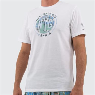 New Balance Court Graphic Tee Shirt - White