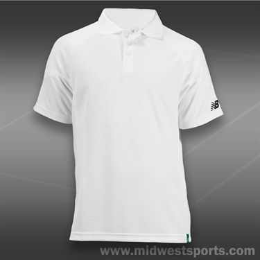 New Balance Baseline Polo -White