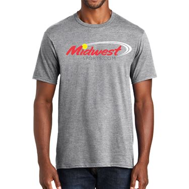 Midwest Sports Logo Tee Heather Grey MWLOGOT HGY