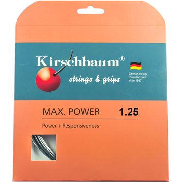 Kirschbaum Max Power 17G (1.25mm) Tennis String
