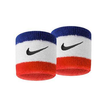 Nike Swoosh Wristbands - Habanero Red/Black