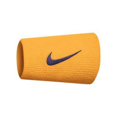 Nike Tennis Premier Doublewide Wristbands - Canyon Gold/Burgundy Ash
