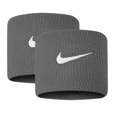 Nike Tennis Premier Wristbands - Smoke Grey/White