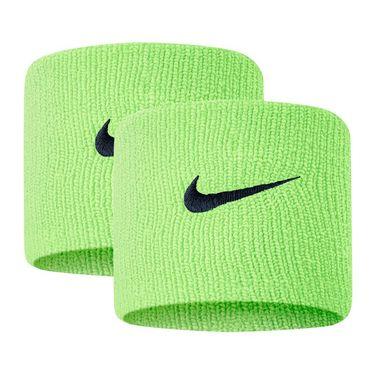 Nike Tennis Premier Wristbands - Lime Glow/Obsidian