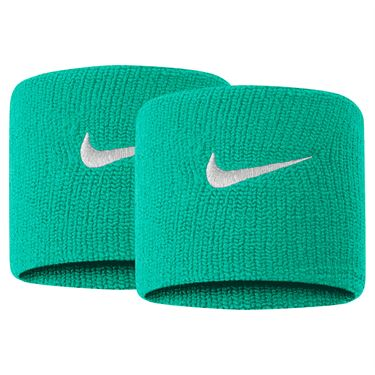 Nike Tennis Premier Wristband - Kinetic Green/White