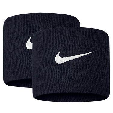 Nike Tennis Premier Wristbands - Obsidian/White