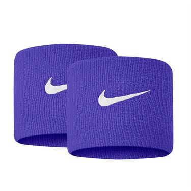 Nike Tennis Premier Wristbands - Concord/White