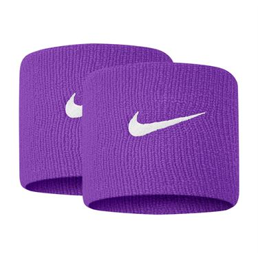 Nike Tennis Premier Wristbands - Wild Berry/White