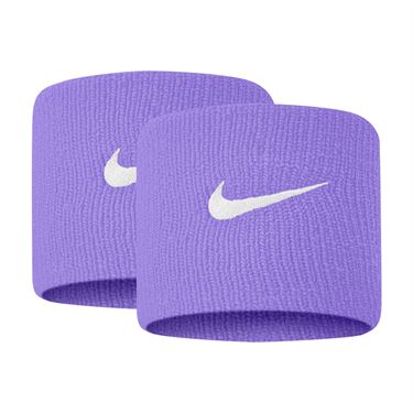Nike Tennis Premier Wristbands - Purple Pulse/White