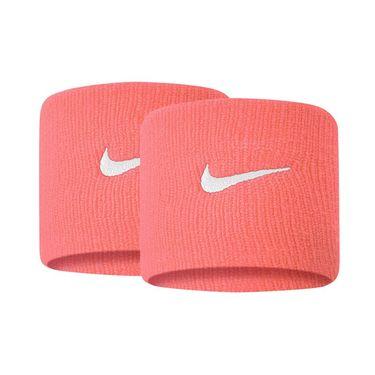Nike Tennis Premier Wristbands - Sunblush/White