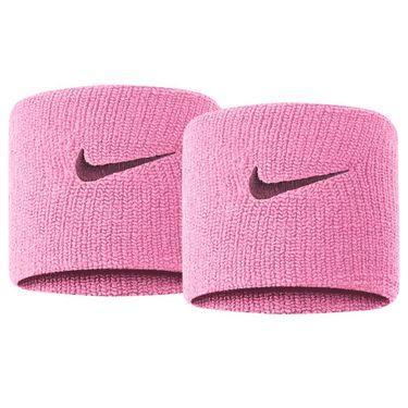 Nike Tennis Premier Wristbands - Pink Rise/Bordeaux