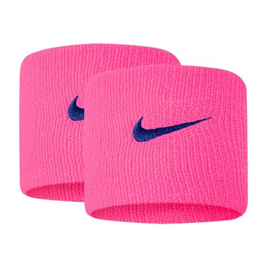 Nike Tennis Premier Wristbands - Hyper Pink/Game Royal