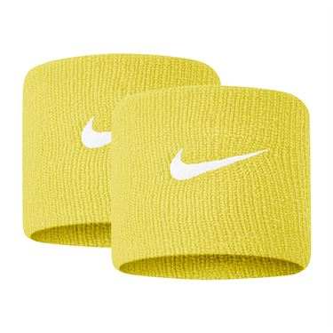 Nike Tennis Premier Wristbands - Speed Yellow/White