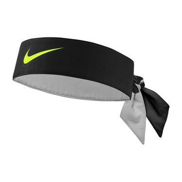 Nike Tennis Graphic Headband - Black/Volt