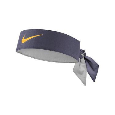 Nike Tennis Headband - Thunder Grey/Laser Orange
