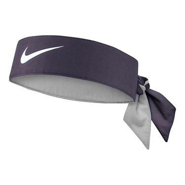 Nike Tennis Headband - Gridiron/White