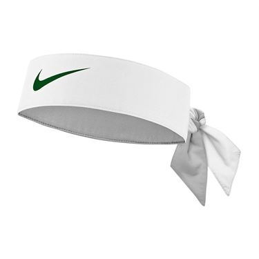 Nike Tennis Graphic Headband - White/Gorge Green