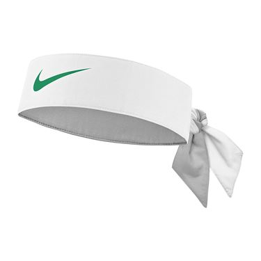 Nike Tennis Graphic Headband - White/Lucid Green