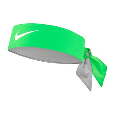 Nike Tennis Graphic Headband - Poison Green/White