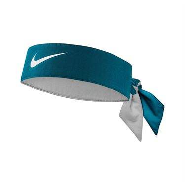 Nike Tennis Graphic Headband - Green Abyss/White