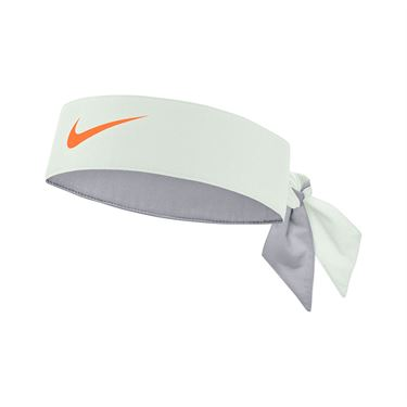 Nike Tennis Graphic Headband - Barely Green Bright Mango