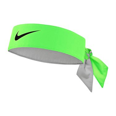 Nike Tennis Graphic Headband - Green Strike/Black