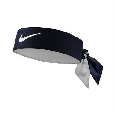 Nike Tennis Graphic Headband - Obsidian/White