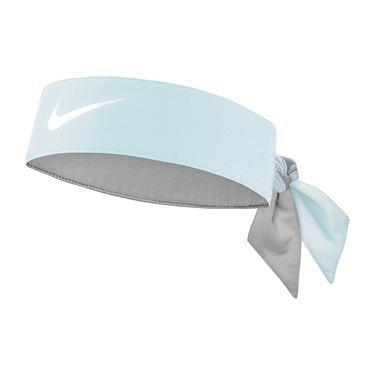 Nike Tennis Graphic Headband - Topaz Mist/White