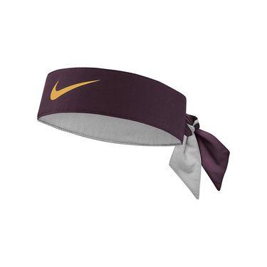 Nike Tennis Headband - Burgundy Ash/Canyon Gold