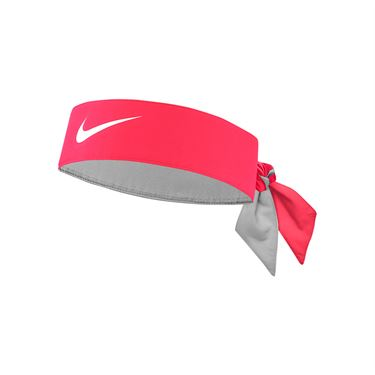 Nike Tennis Headband - Laser Crimson/White