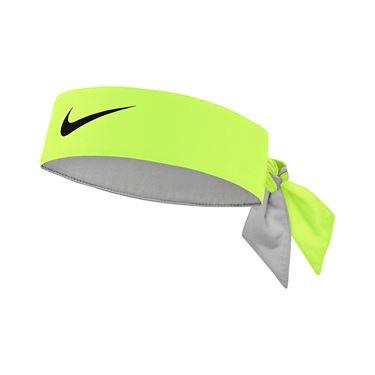 Nike Tennis Graphic Headband - Volt/Black