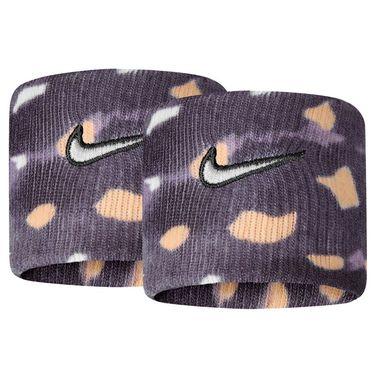 Nike Tennis Graphic Premier Wristbands - Gridiron/White Onyx