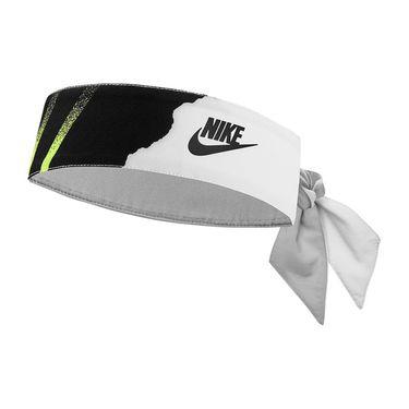 Nike Tennis Graphic Headband - Volt/Neo Turquoise