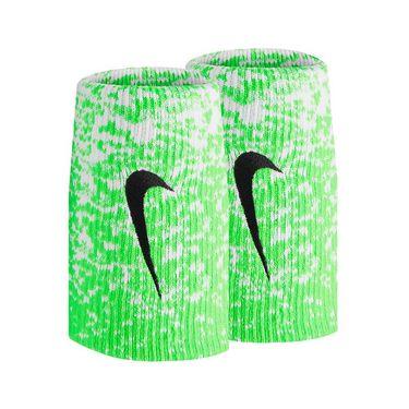Nike Tennis Premier Doublewide Wristbands - Laser Crimson/White