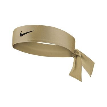 Nike Tennis Womens Headband - Parachute Beige/Black