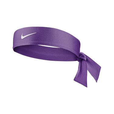 Nike Tennis Womens Headband - Wild Berry/White