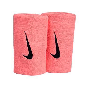 Nike Premier Doublewide Wristbands - Lava Glow/Black