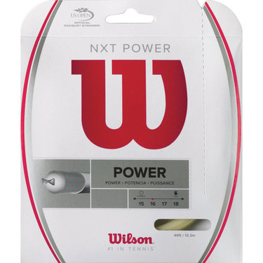 Wilson NXT Power 17G Tennis String